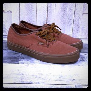 Vans Authentic Sequoia Gum Shoes